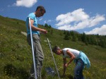 ausstellung landschaft lötschental schilder anbringen