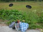 Landschaft- Ausstellung Lötschental - Gepäck