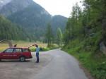 Landschaft- Ausstellung Lötschental - auspacken