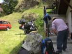 Landschaft- Ausstellung Lötschental - vorbereiten
