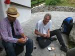Landschaft- Ausstellung Lötschental - nach der Arbeit